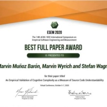 Best Full Paper Award Document